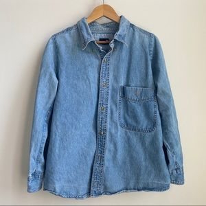 urban outfitters denim button up !!